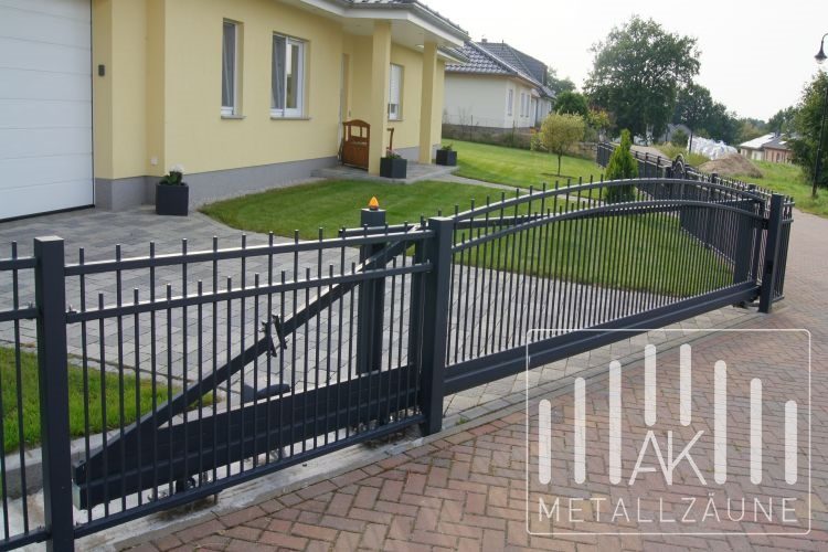 Ak Metallzaune Zaune Aus Polen Schorn 3 Zaun Anthrazit Matt