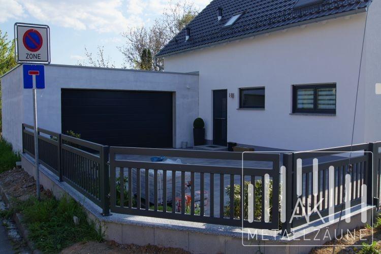 Ak Metallzaune Zaune Aus Polen Frankfurt Modern Zaun Anthrazit