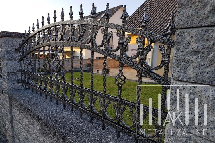 Ak Metallzaune Zaune Aus Polen Landsberg Zaun 2 Schmiedeeiserne